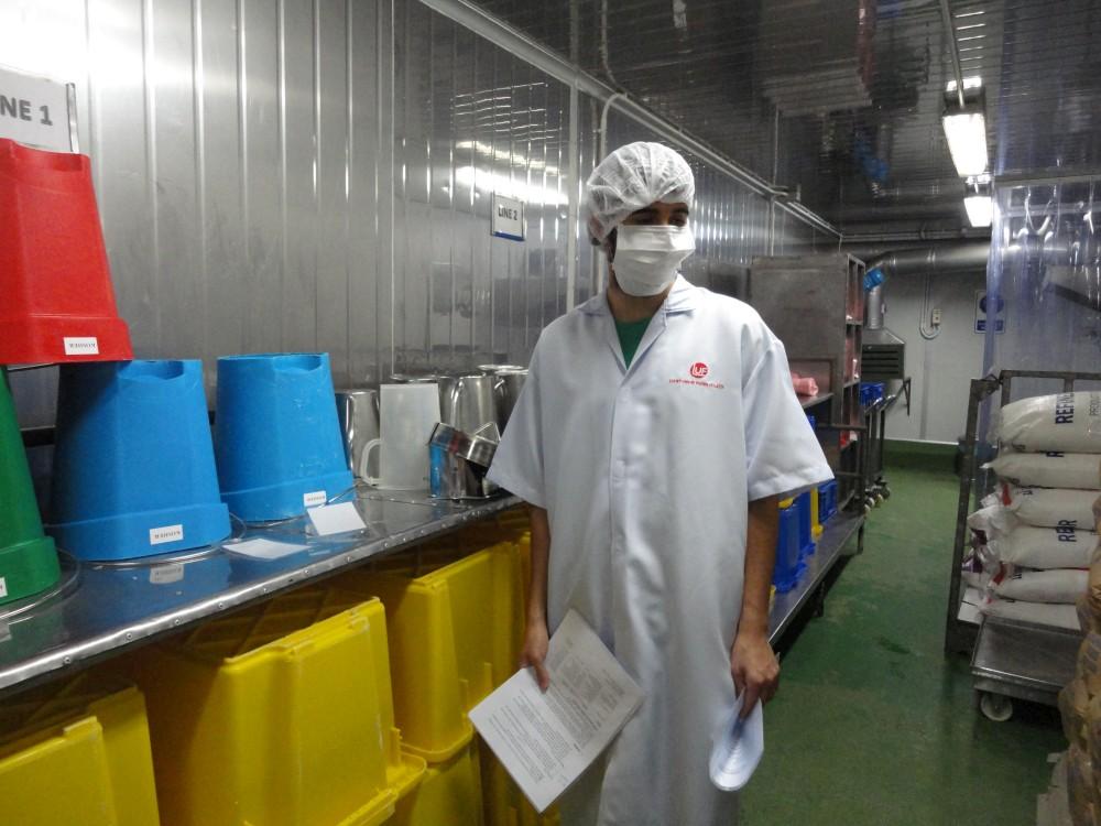 Atelier de pesage des matières premières