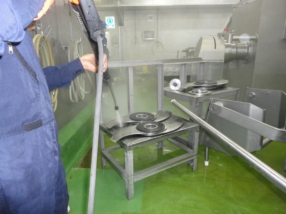 Kachérisation des lames du Broyeur
