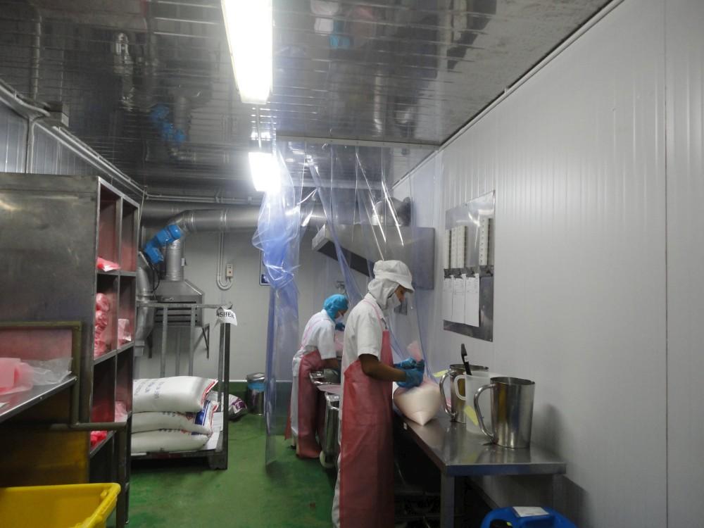 Préparation et pesage des matières premières Kacher