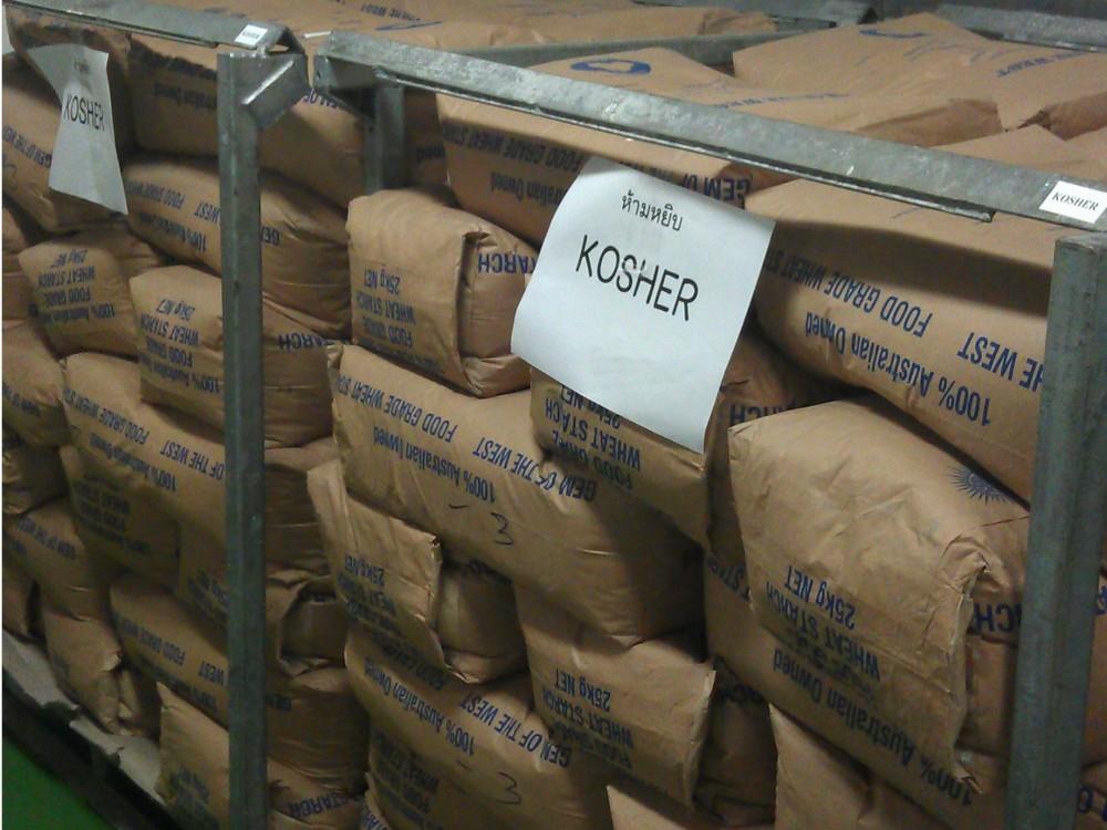 Les autres matières premières Kacher sont clairement identifiées