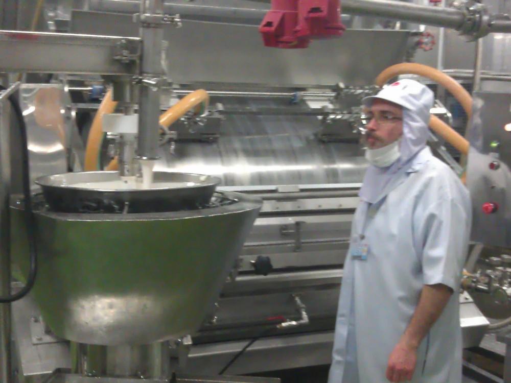 Lancement de la production des Bâtonnets de Surimi